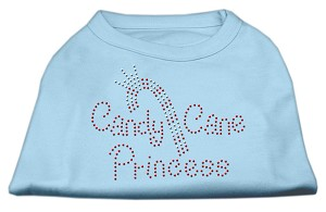 Candy Cane Princess Shirt Baby Blue M (12)